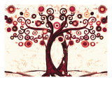 Wedding Tree II Giclee Print by Natasha Wescoat