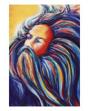 Father Time Giclee Print by Jill Mattson
