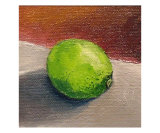 Lime Still Life Giclee Print by Michelle Calkins