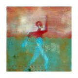 Marathon II Abstract Giclee Print by Ricki Mountain