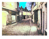 Elm Hill Psychedelic Photographic Print by David Searle