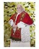 Pave Johannes XXIII Giclée-tryk af Steven Wasserman
