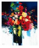 Bouquet Chantant Giclee Print by Max Laigneau