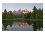 Tetons Photographic Print by Judit Fabian