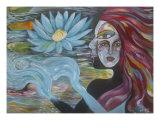 Water Dance Giclee Print by Madiha Yearwood