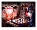 Checkmate Photographic Print by Bill Stephens