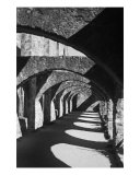 Mission San Jose Arches 1 Photographic Print by Paul Huchton
