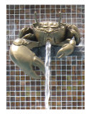 Crab Fountain in Krabi, Thailand Photographic Print by Kim Digiulio