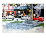Le Bonne Crepe On Las Olas Giclee Print by Ed Barbini