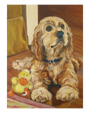 Puppy Love Giclee Print by Reenie Kennedy