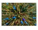 Christmas Tree Decorations Zoom Photographic Print by Clifton Grim