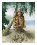Island Hopping Polynesian Style Giclee Print by Mike Massengale