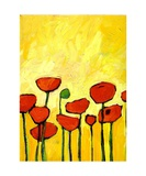 Spring Poppies 2 Giclee Print by Patty Baker