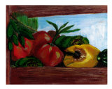 Peppers Giclee Print by Laurie Leiker