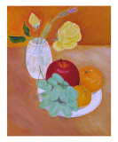 Roses & Grapes, Apple, Tangerines Giclee Print by Thi Nguyen