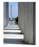 Washington Monument View Through Lincoln Memorial Photographic Print by William Luo