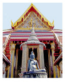 Grand Palace, Bangkok, Thailand Photographic Print by Kim Digiulio