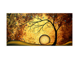 Art Across The Golden River Giclee Print by Megan Aroon Duncanson
