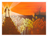 Lord Of The Harvest Giclee Print by Vicki Harris