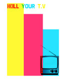 Kill Your TV Photographic Print by Fatima Kabba