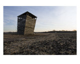 Corn Crib Photographic Print by Joel Stuthman