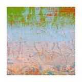 Rainbow Sherbet Abstract Giclee Print by Ricki Mountain