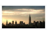 New York Skyline At Sunset Photographic Print by Jen Mcdonald