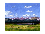 Continental Divide As It Cuts Through Boulder Cnty Giclee Print by Patty Baker