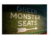 Green Monster Seats Fotografisk trykk av Michelle Walke