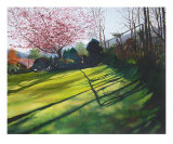 The Garden In Spring Giclee Print by Melanie Barrett