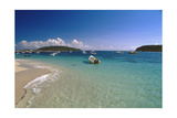 Boats Of Esperanza, Vieques, Puerto Rico Photographic Print by George Oze