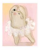 Ballerina Bear Giclee Print by Kim Y.