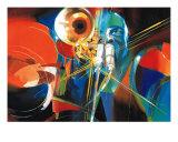 Trompette D'Or Giclee Print by Max Laigneau