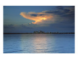 Storm Over Tampa Bay Photographic Print by David Thompson