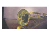 The Old Trumpet Giclee Print by Lucinda Knowlton