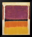 Untitled (Violet, Black, Orange, Yellow on White and Red), 1949 Print by Mark Rothko