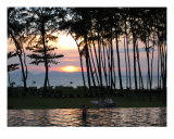 Sunset in Karbi, Thailand Photographic Print by Kim Digiulio