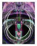 Gasometer Uhr 04 Giclee Print by andreas kovar