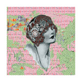 Vintage Couture IV Giclee Print by Ricki Mountain