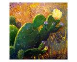 Texas Cactus Still Life 1 Giclee Print by Lloyd Voges