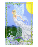 Tarot 0: The Fool Giclee Print by M. Elaine Gladney
