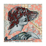 Vintage Couture I Giclee Print by Ricki Mountain