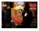 Citylife AM Photographic Print by Tony Pavone