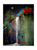 Night Falls Giclee Print by Ruth Palmer