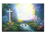 The Place Of Decision Giclee Print by Don C Williams