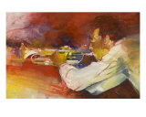 Trompette En Solo Giclee Print by Max Laigneau