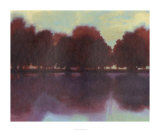 Crimson Lake I Premium Giclee Print by Norman Wyatt Jr.