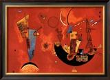 Mit und Gegen, c.1929 Prints by Wassily Kandinsky