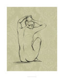 Sophisticated Nude I Premium Giclee Print by Ethan Harper