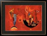 Mit und Gegen, c.1929 Posters by Wassily Kandinsky